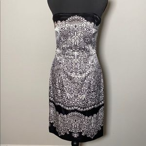 White House black market cocktail dress size 4